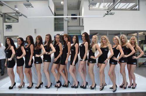 Fashion Models Praha, premiera BMW GT 3
