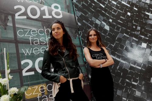 Příprava na Czech Fashion Week 2018