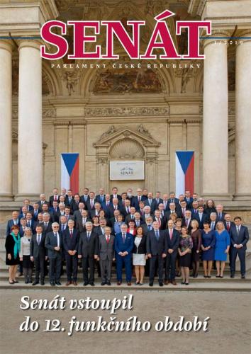 Nové číslo časopisu Senát