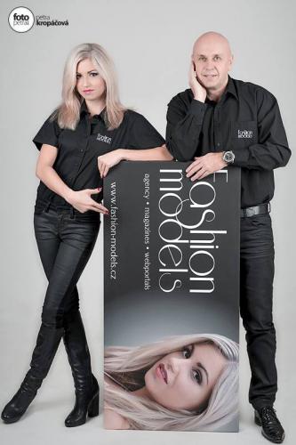 Fashion Models Management Jiří Morštadt a Žaneta Kacerovská