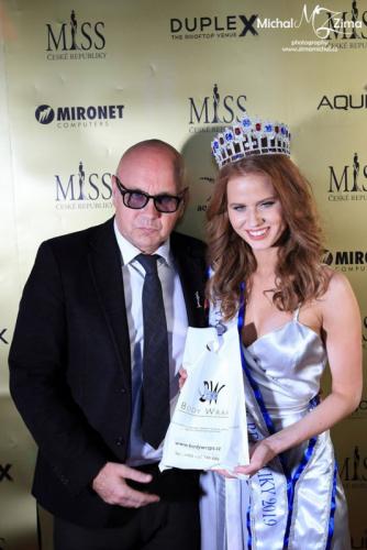 Finálový galavečer Miss České republiky 2019