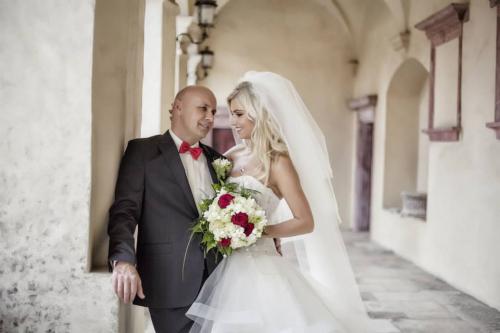 Svatební den - Žaneta a Jiří Morštadt