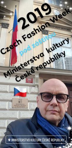 Czech fashion week 2019 pod záštitou Ministerstva